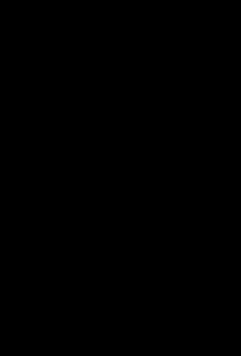 線画で表現された猪のイラスト