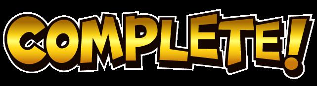 COMPLETE なロゴデザイン_ゴールドカラー