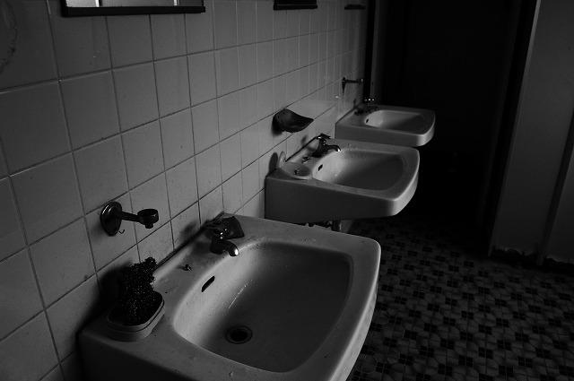 No.p000028_暗い雰囲気の洗面器