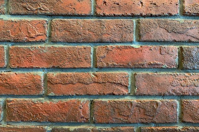No.p000032_レンガの壁