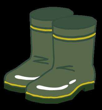 i000370_カーキ色の長靴