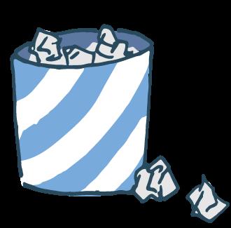 i000426_ゴミ箱(ブルー)