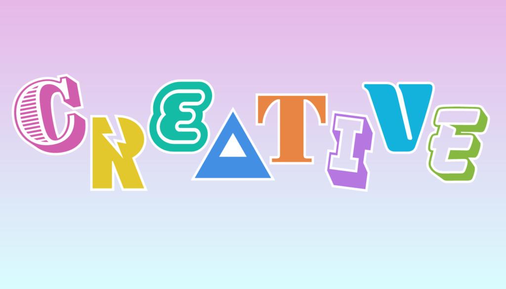 CREATIVEのロゴデザイン