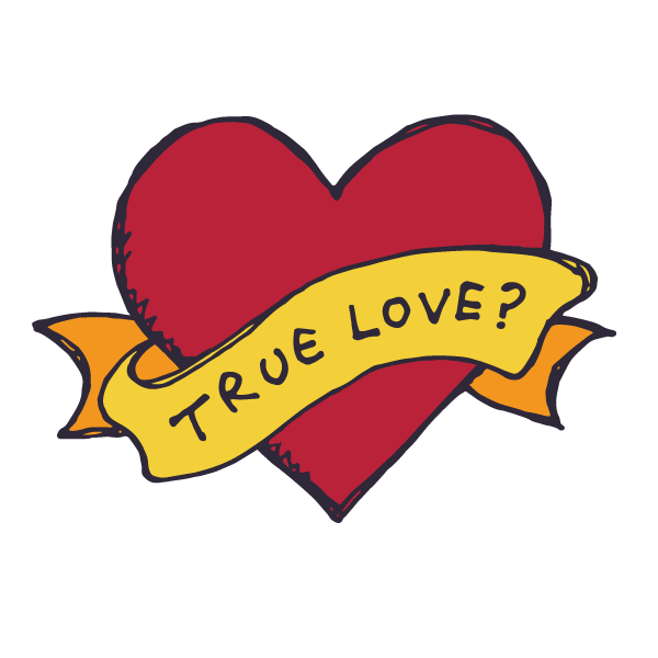 TRUE LOVEのデザイン
