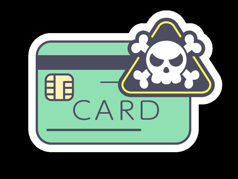 ショッピングカードのイラスト